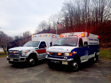 The Vernon Township Ambulance Squad