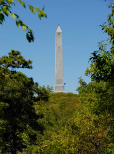 The 220-foot monument at High Point State Park.